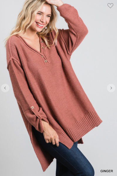 Ginger Spice Sweater