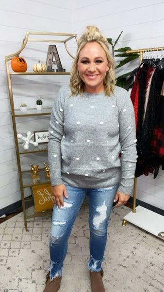 Kate Polka Dot Sweater