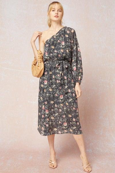 One Shoulder Berkley Dress