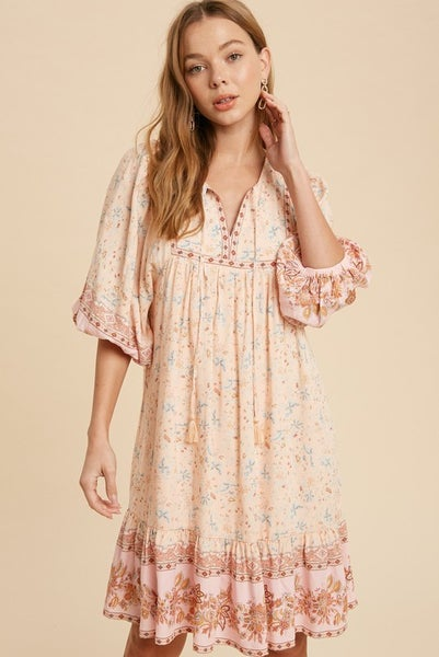 Taylor Floral Boho Dress