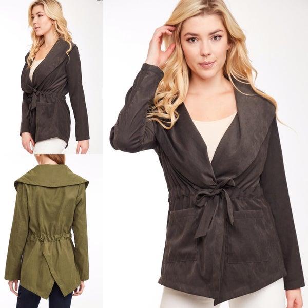 Wide Collar Jacket *Final Sale*