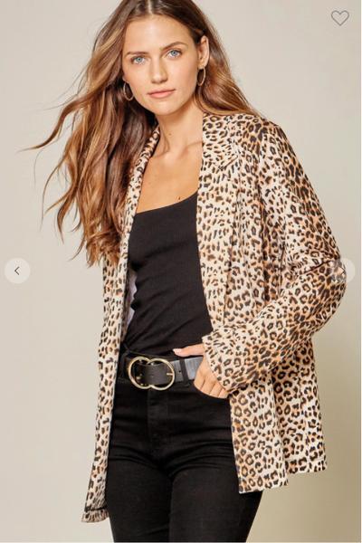Leopard Fab Blazer
