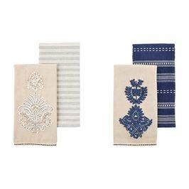 Indigo Towel Set