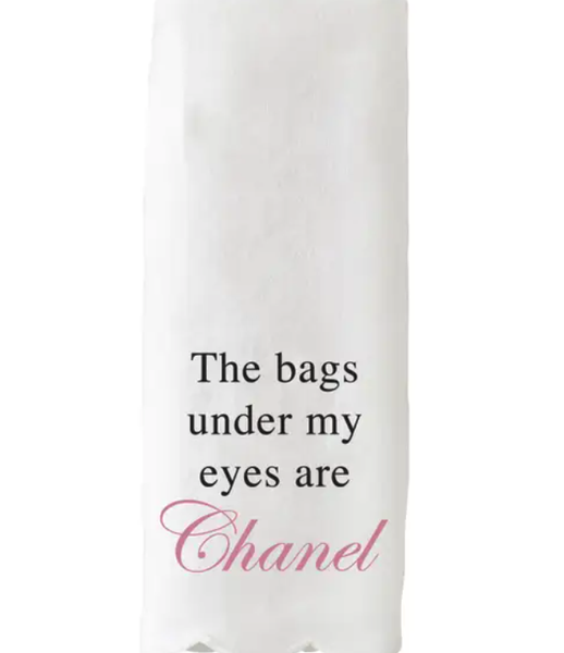 Chanel Scalloped Guest Towel