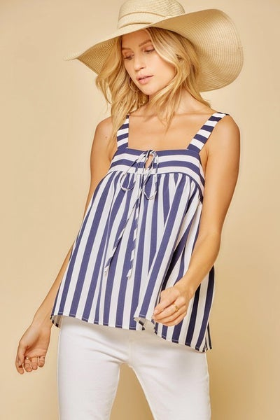 Christy Classic Stripes Top