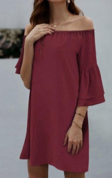 Emerson Ruffle Sleeve Dress