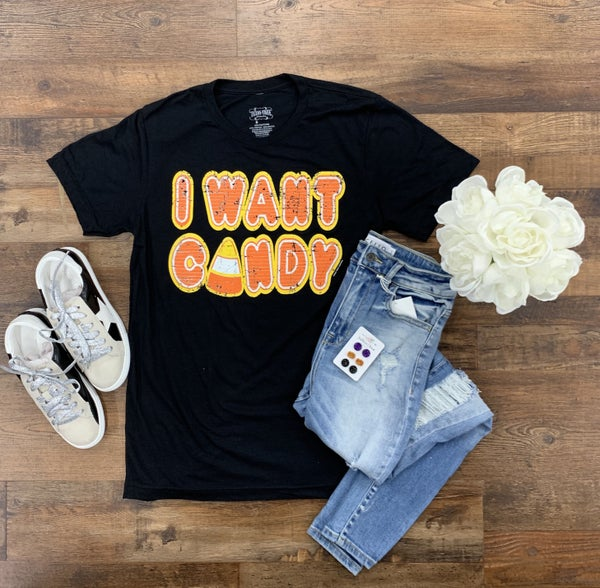 I Want Candy Tee