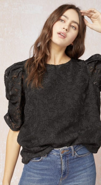 Puff Sleeve Julia Blouse