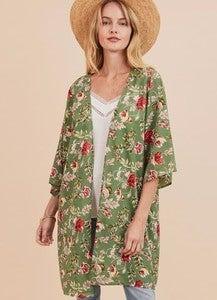 Garden Gate Kimono *Final Sale*