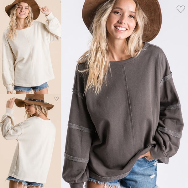 Blakelee French Terry Sweatshirt