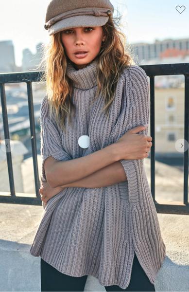 Sweater Cape