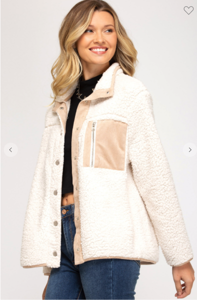 Shearing Fleece Jacket