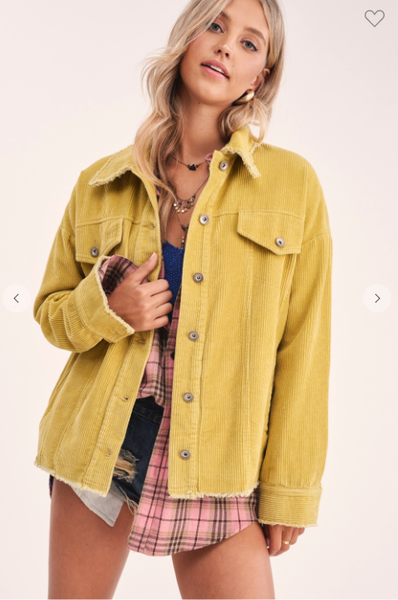 Sunny Corduroy Jacket