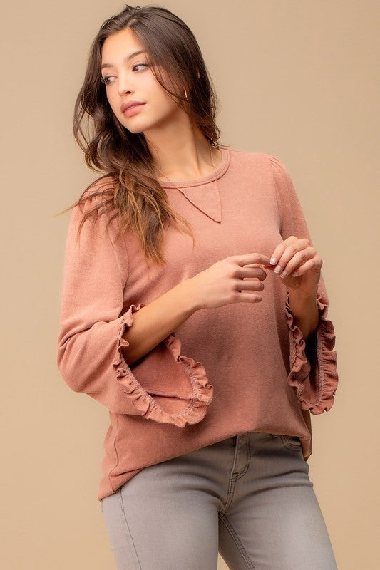 Frills Sweatshirt
