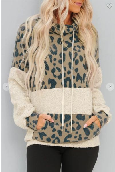 Blake Leopard Hoodie