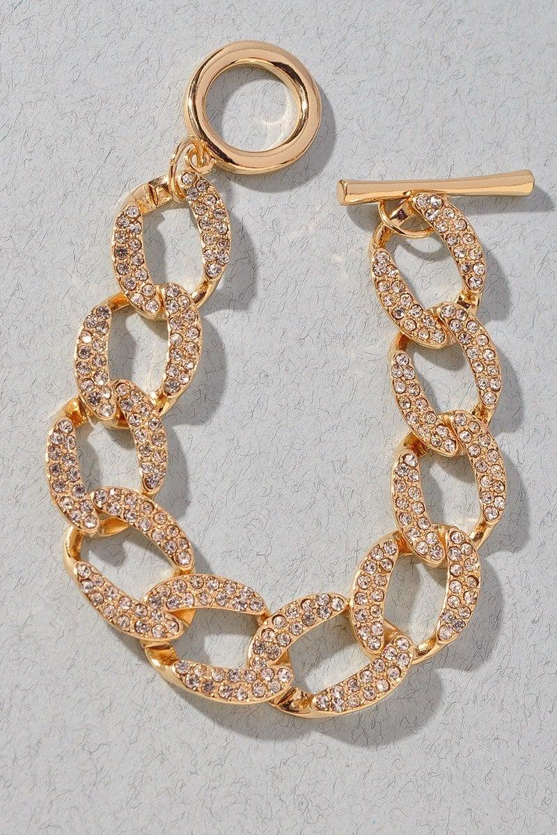 Abbie Chunky Druzy Bracelet