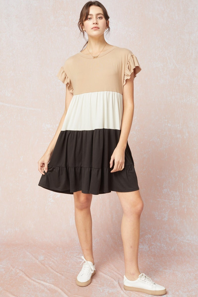 Color Block Ainsley Dress