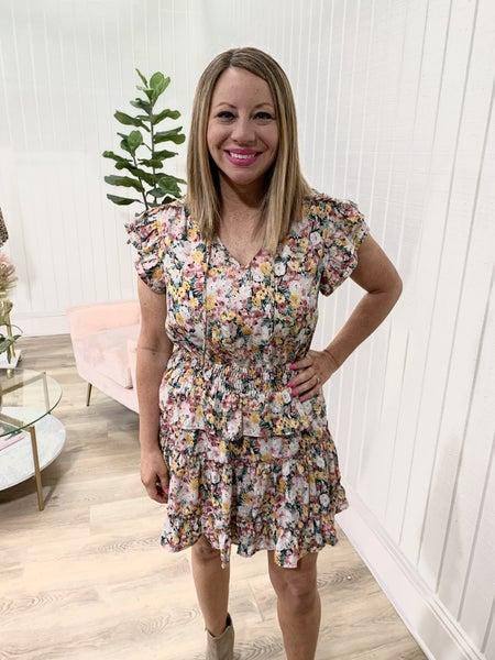 Aria Floral Dress