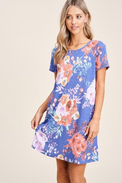 Emily Pocket Floral Dress