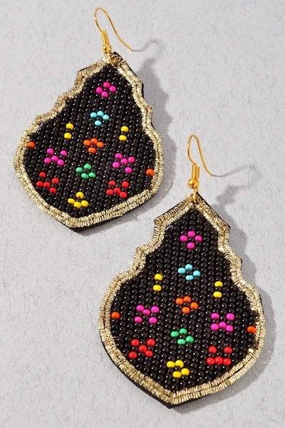 Beaded Kelly Earrings