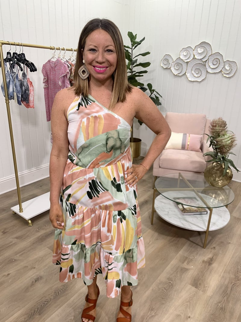Olivia One Shoulder Dress