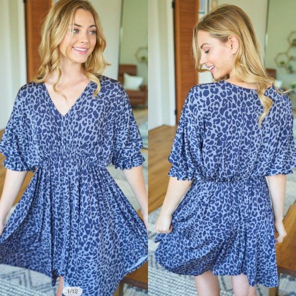 Flirty Leopard Dress *Final Sale*