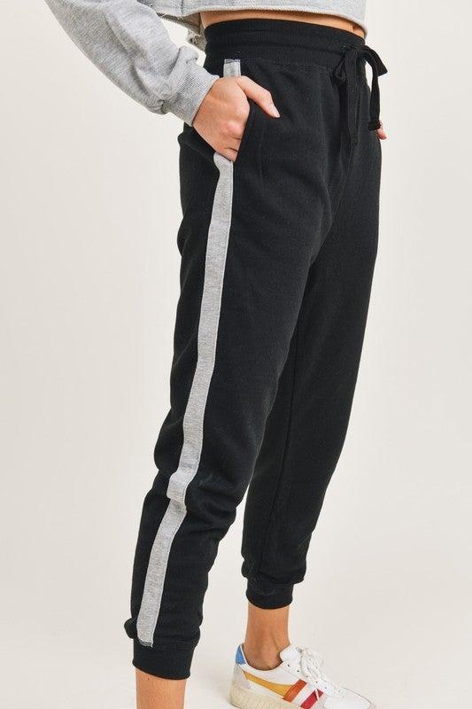 Side Stripe Joggers