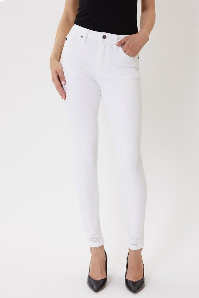 Work Approved White Jeans