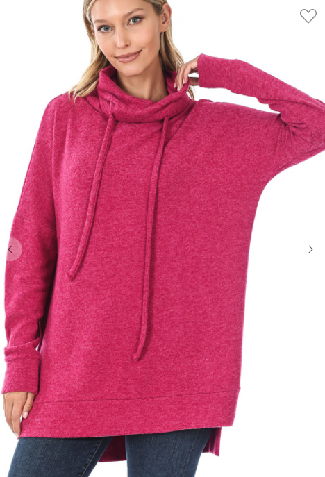 The Softest Funnel Neck Tunic