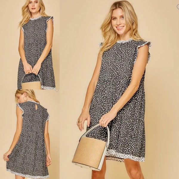 Morgan Polka Dot Dress