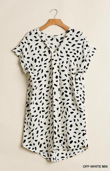 Parks Dalmatian Dress *Final Sale*