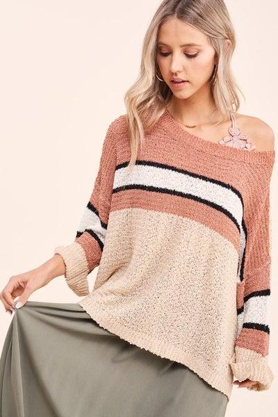 Preston Striped Sweater