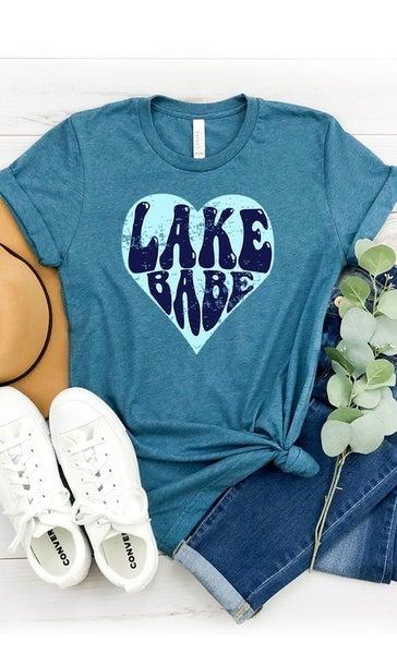Retro Lake Babe Tee