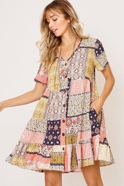 Abrams Printed Dress