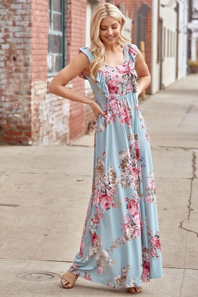 Madison Floral Maxi