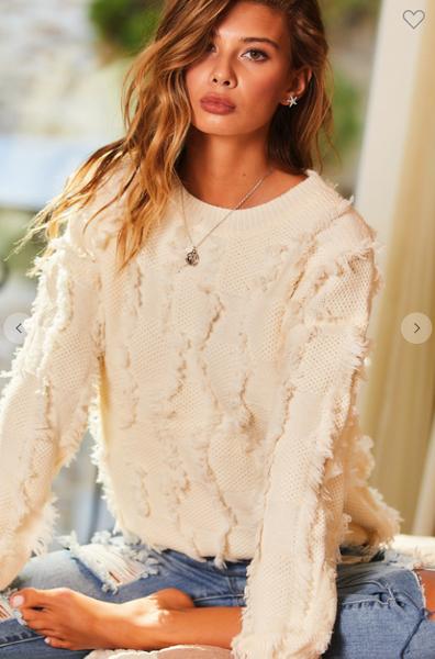 Olivia Tassel Sweater