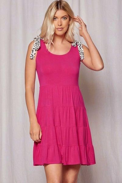 Charlotte Pop of Leopard Dress