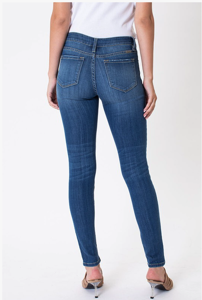 KanCan Mid-Rise Super Skinny Jeans