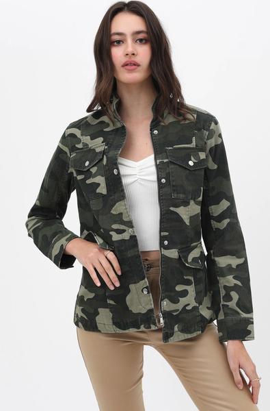 Camo Army Jacket *Final Sale*