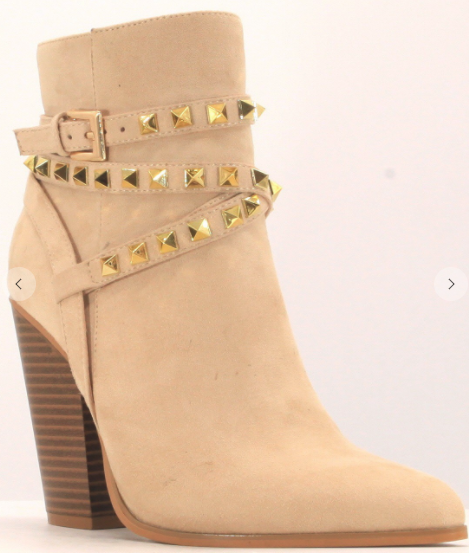 Studded Wrap Bootie