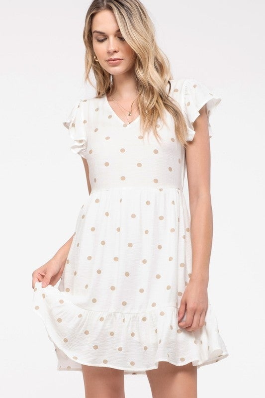 Morgan Polka Dot Dress