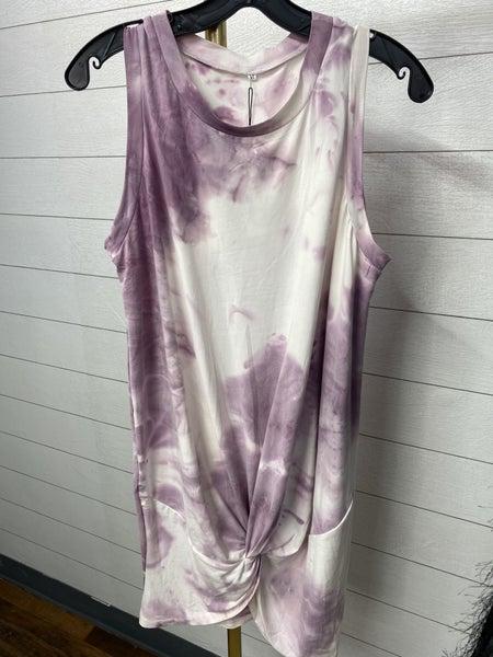 Pretty Purple Tie Front Dress *Final Sale*