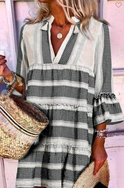 Chevron Chic Dress
