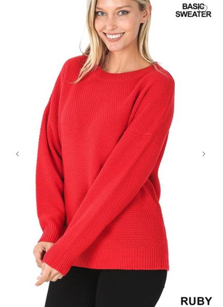 Round Neck Richi Sweater