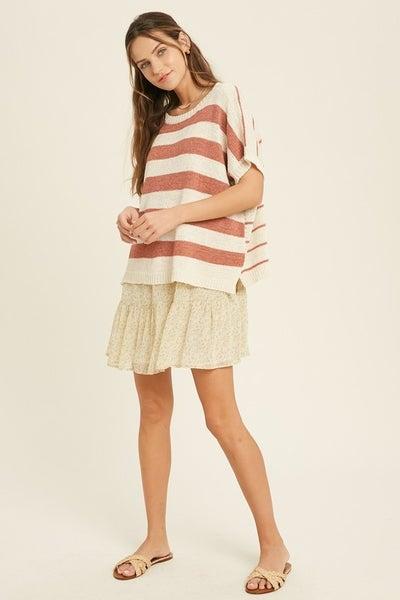 Melissa Striped Sweater
