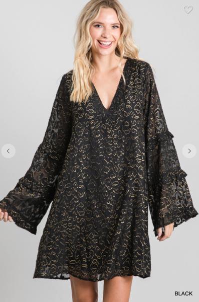 Aria Lurex Dress