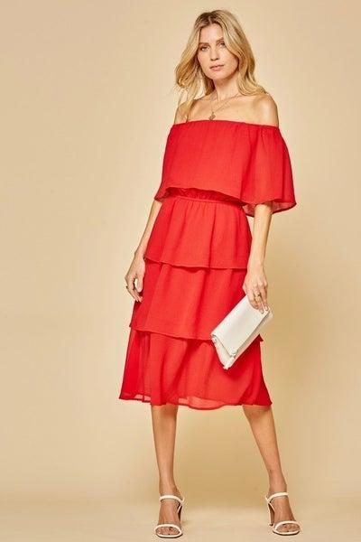Mamacita Tiered Dress