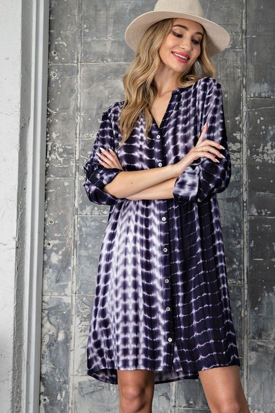 Eiliana Tie Dye Dress