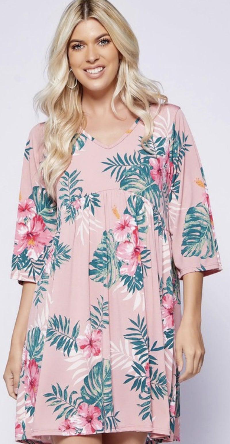 Kauai Babydoll Dress