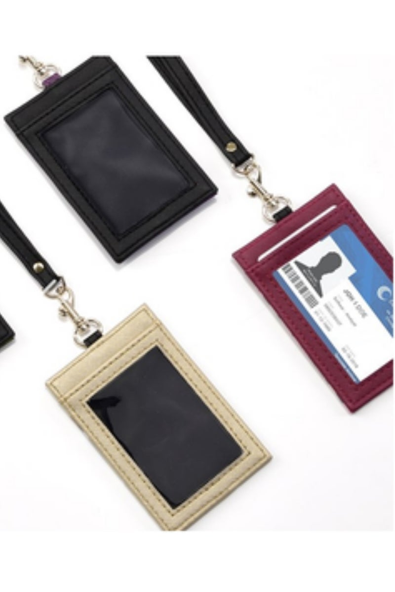 Check You Out Cardholder Lanyards